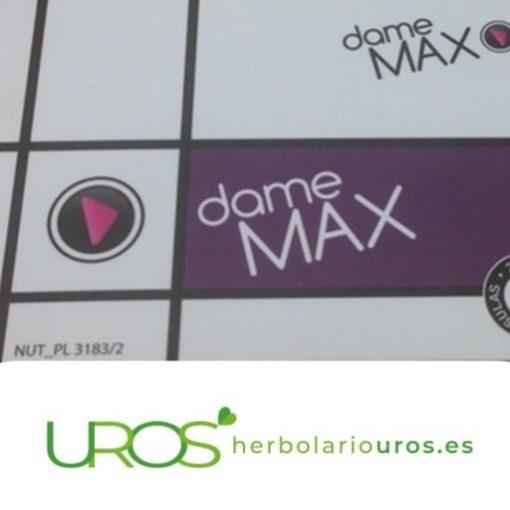 Dame max Damemax (ForteMax) - tu estimulante sexual natural Estimulante sexual para el hombre con efecto rápido en la líbido Suplemento vigorizante natural para mejorar tu vida sexual