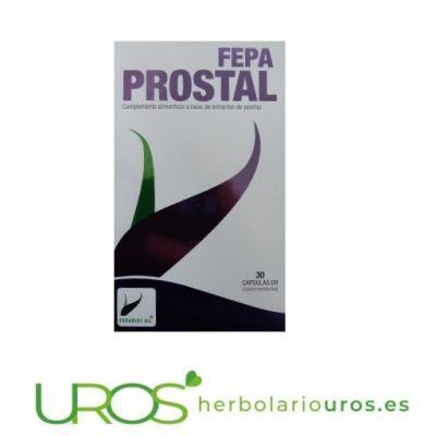 Fepa prostal - remedio natural para la próstata