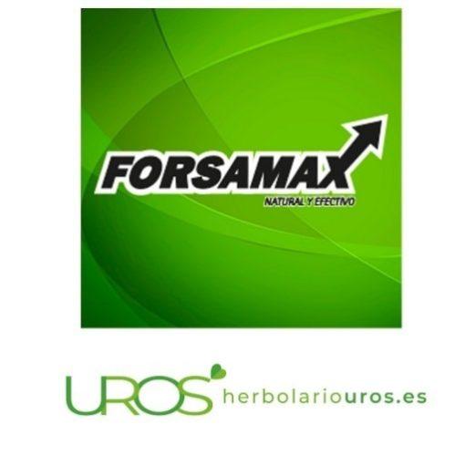 Forsamax - vigorizante sexual para el hombre Potenciador sexual para una mejor vida íntima