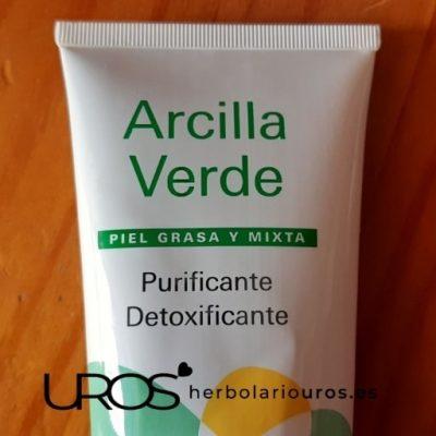 Arcilla verde preparada para su uso Descubre las propiedades naturales de la arcilla verde Mascarillas, cataplasmas, efecto detox en tu piel y una piel más limpia y suave