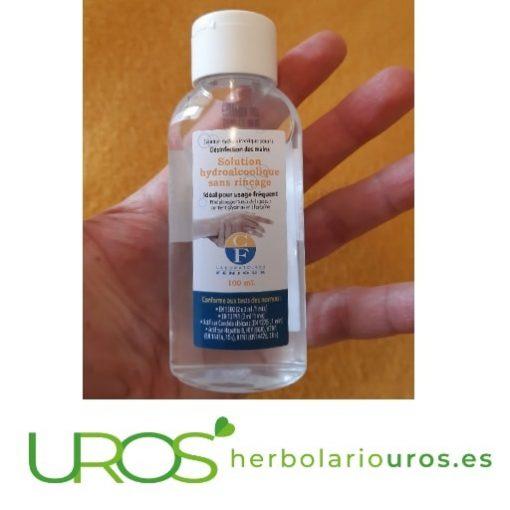 Gel hidroalcohólico para las manos - Gel desinfectante Desinfectante de manos con base hidroalcohólica Gel de manos higienizante / Anti-bacterias de bolsillo