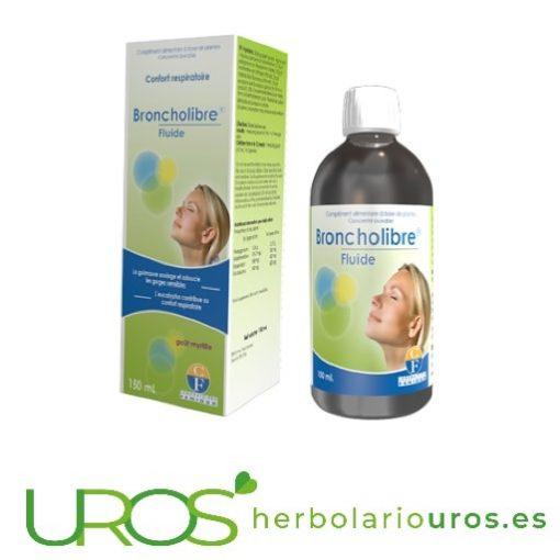 Broncholibre Fluid de Fenioux para tus vías respiratorias Broncholibre Fluid Fenioux - para tus vías respiratorias Broncholibre Fluis de laboratorios Fenioux - una ayuda natural para respirar bien