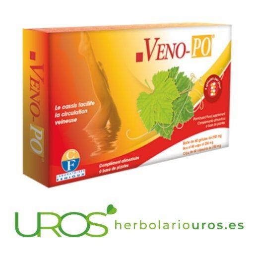Veno Po Fenioux - mejor circulación sanguínea Veno Po de Fenioux - remedio natural para las piernas ligeras Este remedio natural de laboratorios Fenioux ayuda en la circulación venosa