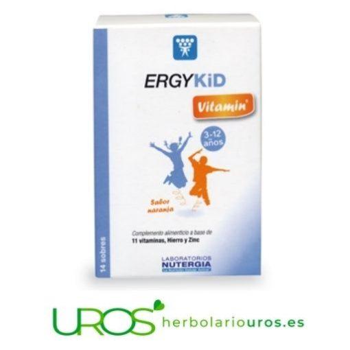 ErgyKid vitamin - energía, vitaminas y minerales para tus hijos ErgyKid vitamin - energía natural para tus hijos