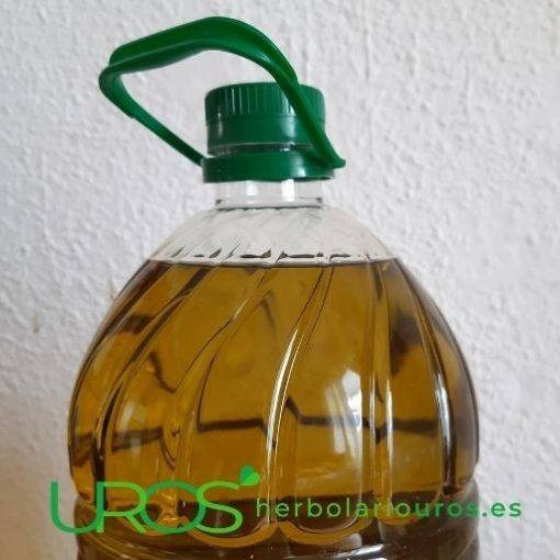 Aceite de oliva virgen extra de Jaén - Tu aceite de oliva variedad picual pura Tu aceite de oliva virgen extra variedad picual de Jaén: Tu garrafa de 5 l Disfruta del sabor de las aceitunas picual - un sabor característico - y en este aceite de intensidad moderada - para que lo puedas disfrutar en todo momento