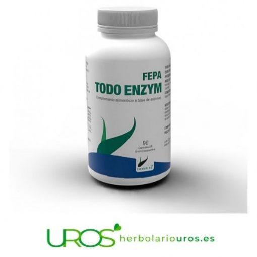Fepa TODO ENZYM - mejora tu digestión naturalmente FEPA TODO ENZYM - tu ayuda digestiva natural Mejora tu digestión naturalmente - tu remedio digestivo para 45 días