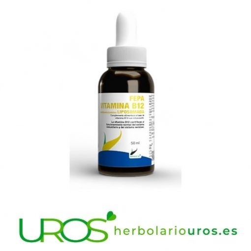 Vitamina B12 liposomada - Tu dosis elevada de la Vitamina 12 pura